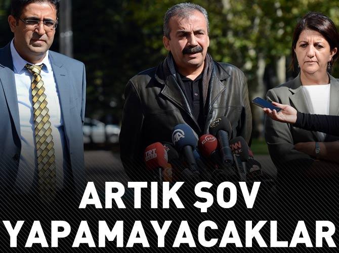 HDP ARTIK ŞOV YAPAMAYACAK