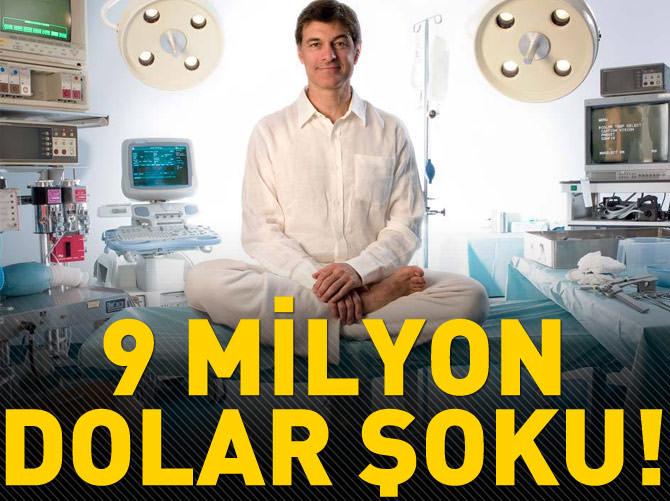 MEHMET ÖZ'E 9 MİLYON DOLARLIK ŞOK!