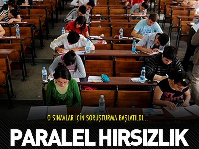 PARALEL HIRSIZLIĞA İNCELEME!