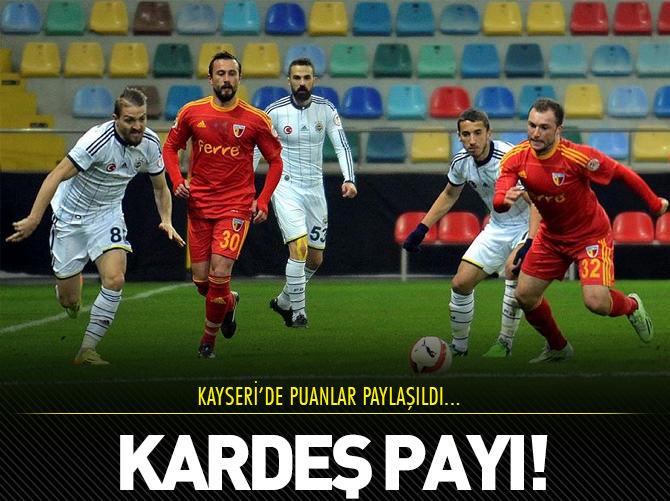 KAYSERİ'DE KARDEŞ PAYI!