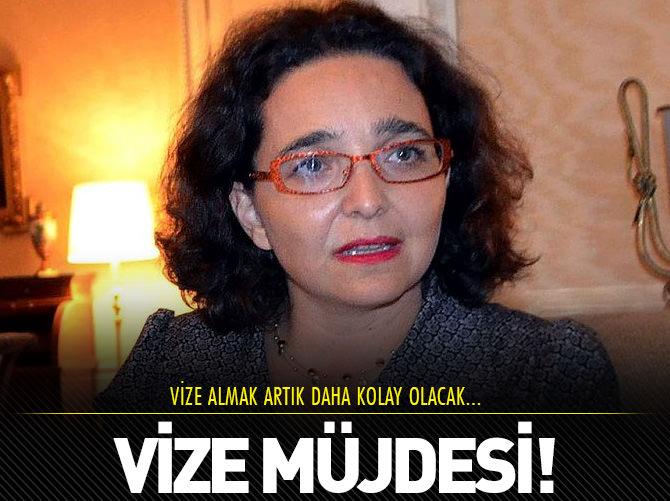 TÜRKİYE'YE SCHENGEN MÜJDESİ