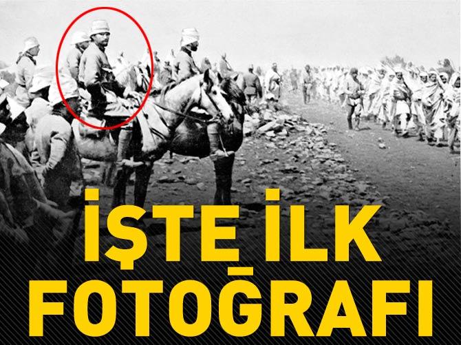 ATATÜRK'ÜN İLK FOTOĞRAFI