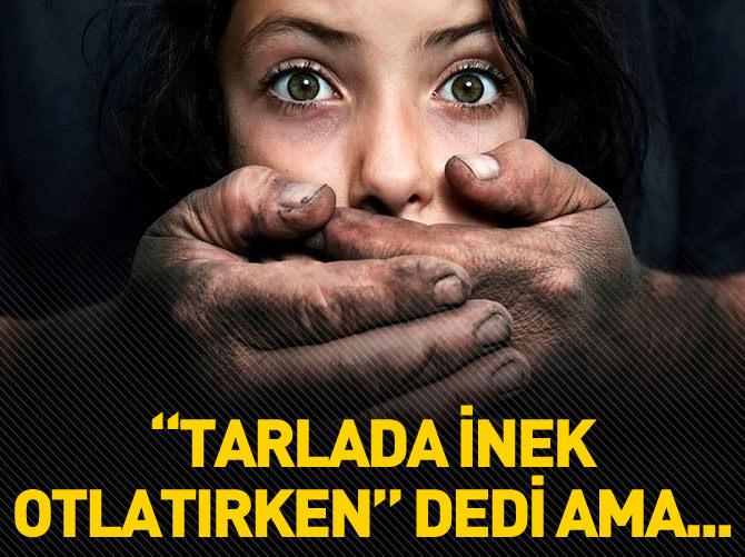 TARLADA İNEK OTLATIRKEN DEDİ AMA...