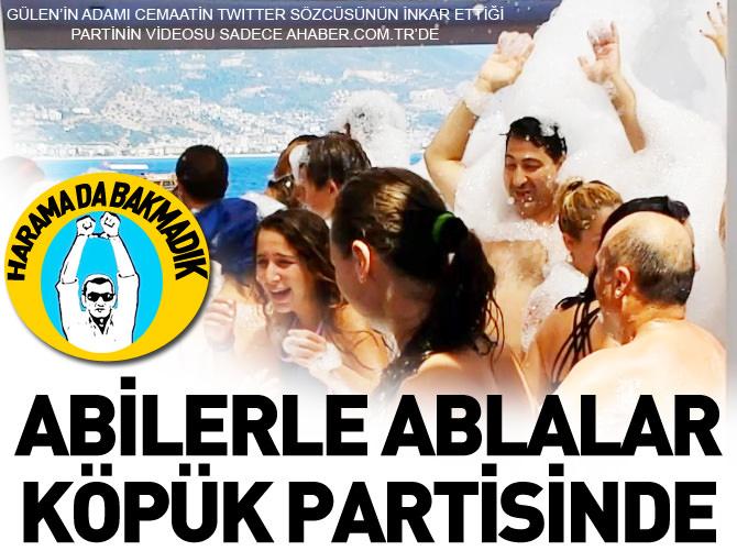 ABİLERLE ABLALAR KÖPÜK PARTİSİNDE!