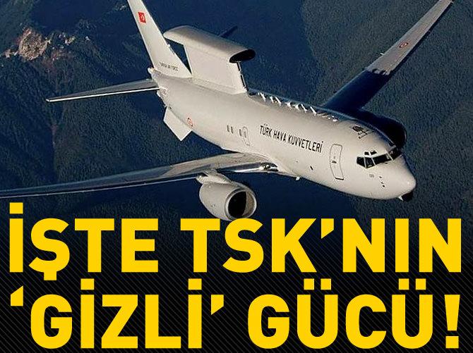 TSK'NIN İSTİHBARAT GÜCÜ AWACSLAR
