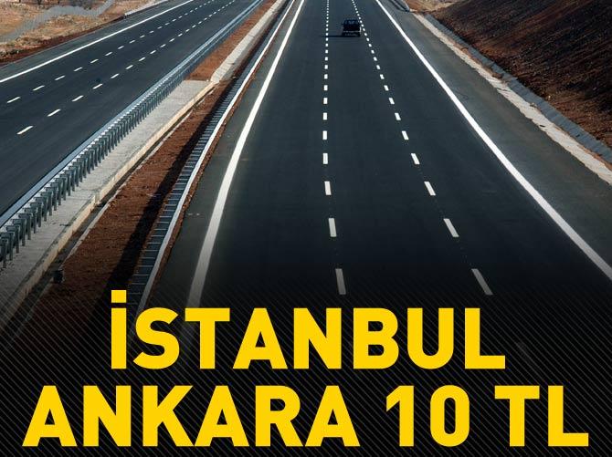 İSTANBUL - ANKARA 10 TL