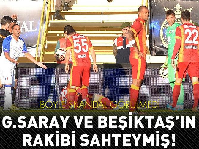 G.SARAY VE BEŞİKTAŞ'IN RAKİBİ SAHTE ÇIKTI!