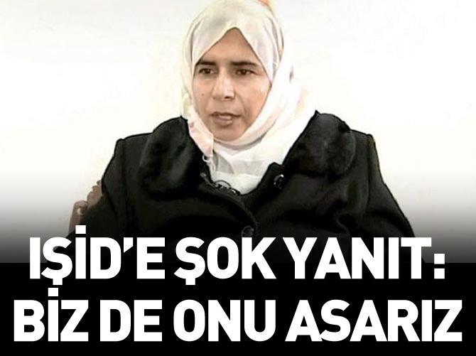 ÜRDÜN'DEN IŞİD'E YANIT: BİZ DE SACİDE'Yİ ASARIZ