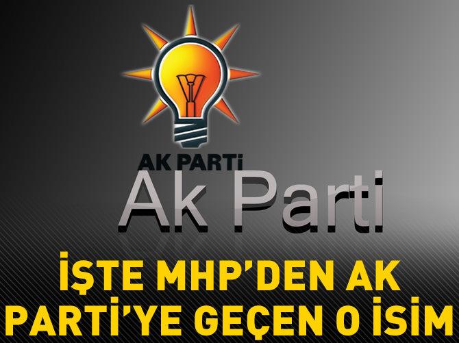 MHP'DEN AK PARTİ'YE GEÇTİ
