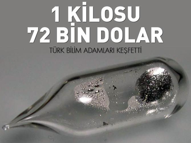 1000 GRAMI 72 BİN DOLAR