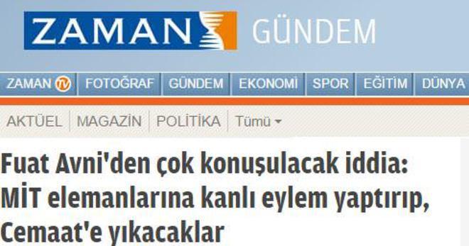 ZAMAN'A 100 BİN TL'LİK DAVA