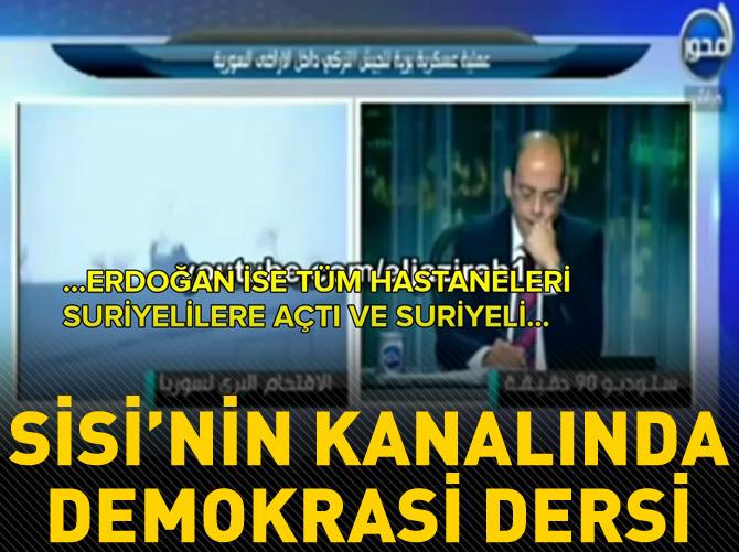 SİSİ'NİN KANALINDA DEMOKRASİ DERSİ