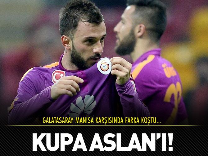 KUPA ASLAN'I FİRE VERMEDİ!