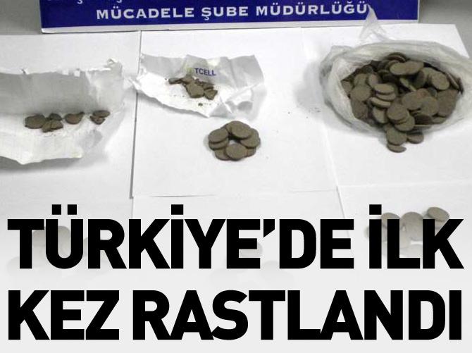 TÜRKİYE'DE İLK KEZ RASTLANDI!