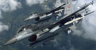 F-16'LAR SURİYE SINIRINA GÖNDERİLDİ