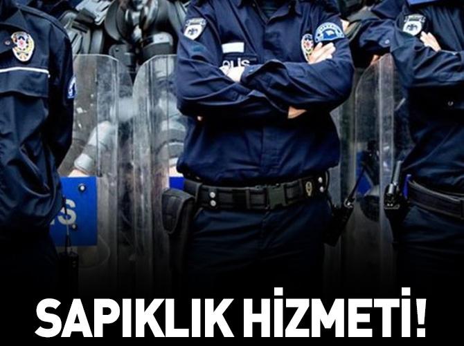 TACİZCİYİ AKLAYAN POLİSLERE OPERASYON