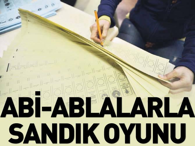 'ABİ VE ABLALAR'LA SANDIK OYUNU!