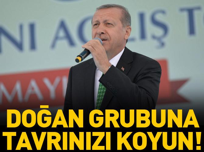 CUMHURBAŞKANI ERDOĞAN'DAN DOĞAN MEDYAYA SERT TEPKİ!