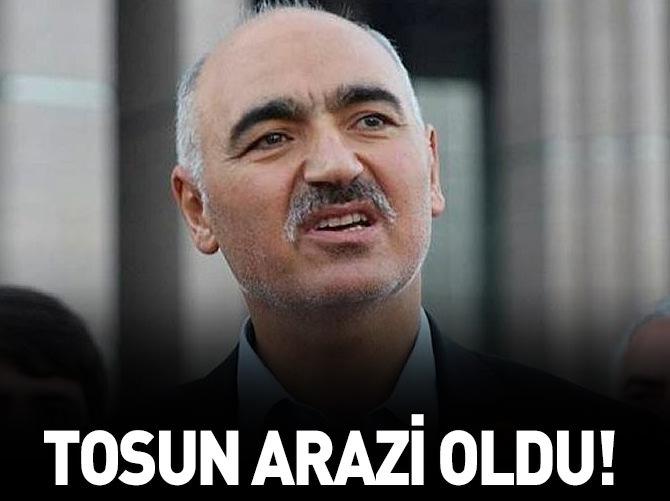 HAMZA TOSUN ARAZİ OLDU!