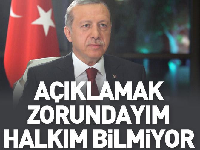 ERDOĞAN: HDP'YE TALİMAT DAĞDAN GELİYOR