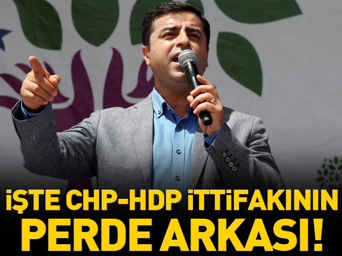 BENENSON CHP VE HDP'Yİ AYRI TAKTİKLERLE AYNI ANDA YÖNETİYOR