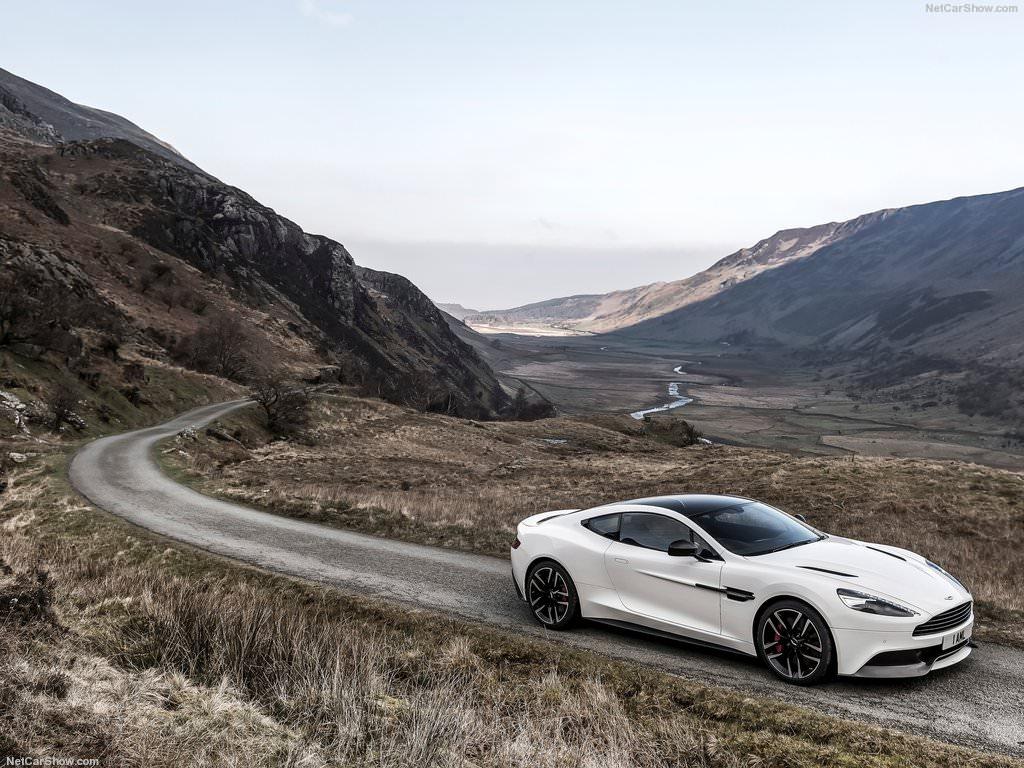 Aston Martin Vanquish Carbon White (2015)