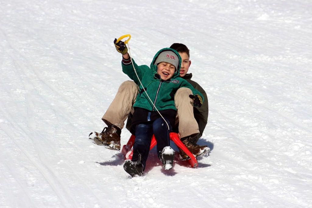 Hakkari dağları, snowboardla tanıştı