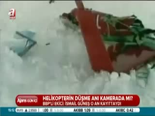 Helikopter'in d��me an� kamerada m�?