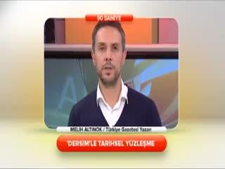 Melih Alt�nok - 'Dersim'le tarihsel y�zle�me