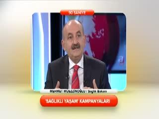 Mehmet m�ezzino�lu - 'Sa�l�kl� ya�am' kampanyalar� 2