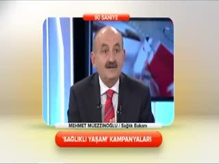 Mehmet m�ezzino�lu - 'Sa�l�kl� ya�am' kampanyalar� 1