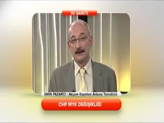 Emin Pazarc� - CHP MYK de�i�ikli�i