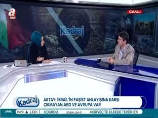 Yasin Aktay: T�rkiye �nc�lerin yaln�zl���n� ya��yor!