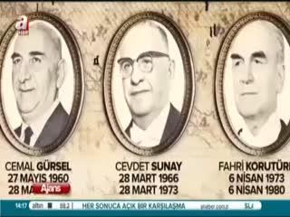 Cumhurba�kanlar� belgesel dizisi - Cevdet Sunay d�nemi