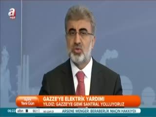 T�rkiye'den Gazze'ye elektrik yard�m�