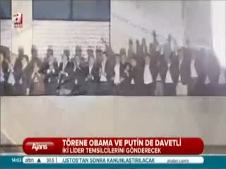 T�rene Obama ve Putin de davetli