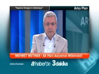 ''Hepimiz Erdo�an'�n saf�nday�z'' - Mehmet Metiner