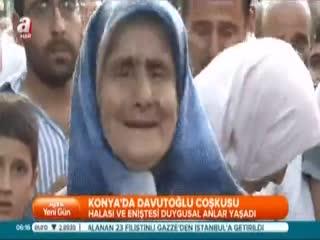 Konya'da Davuto�lu �o�kusu