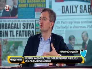 Burhanettin Duran: Yeni T�rkiye�nin yarat�lmas� i�in...