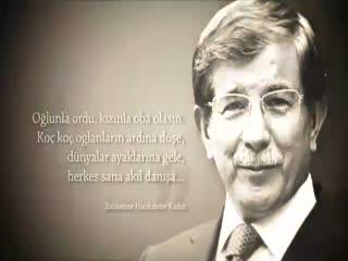Ahmet Davuto�lu klibi payla��m rekoruna ko�uyor
