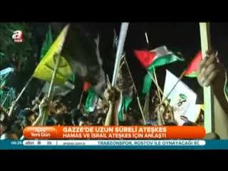 Gazze'de uzun s�reli ate�kes