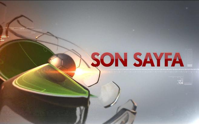 Son Sayfa - 31/08/2014