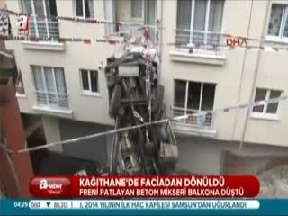 Beton mikseri balkona d��t�