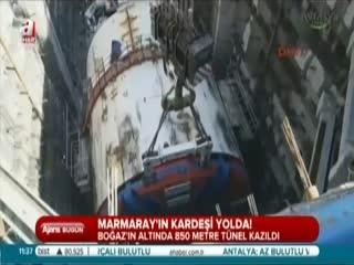 Marmaray'�n karde�i yolda