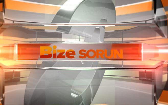 Bize Sorun - 01/09/2014