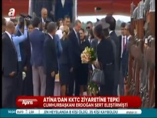 Atina'dan KKTC ziyaretine tepki