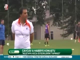 �lhan Cavcav A Haber'e konu�tu