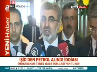 Bakan Y�ld�z'dan I��D petrol� iddialar�na tepki