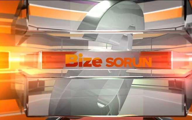 Bize Sorun - 16/09/2014