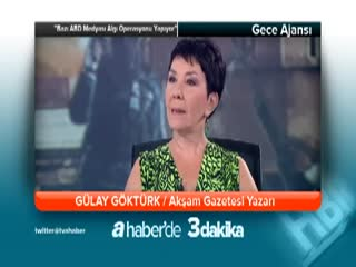 ''Baz� ABD medyas� alg� operasyonu yap�yor'' - G�lay G�kt�rk